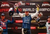 2020 SuperEnduro championship results Billy Bolt Podium