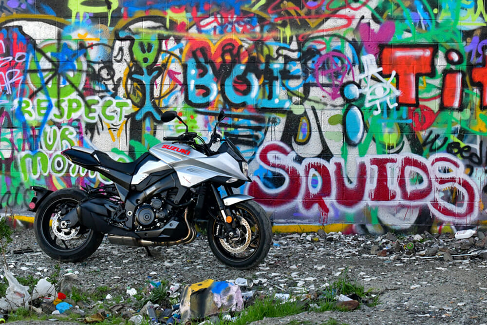 Squids need not apply to ride the 2020 Suzuki Katana.