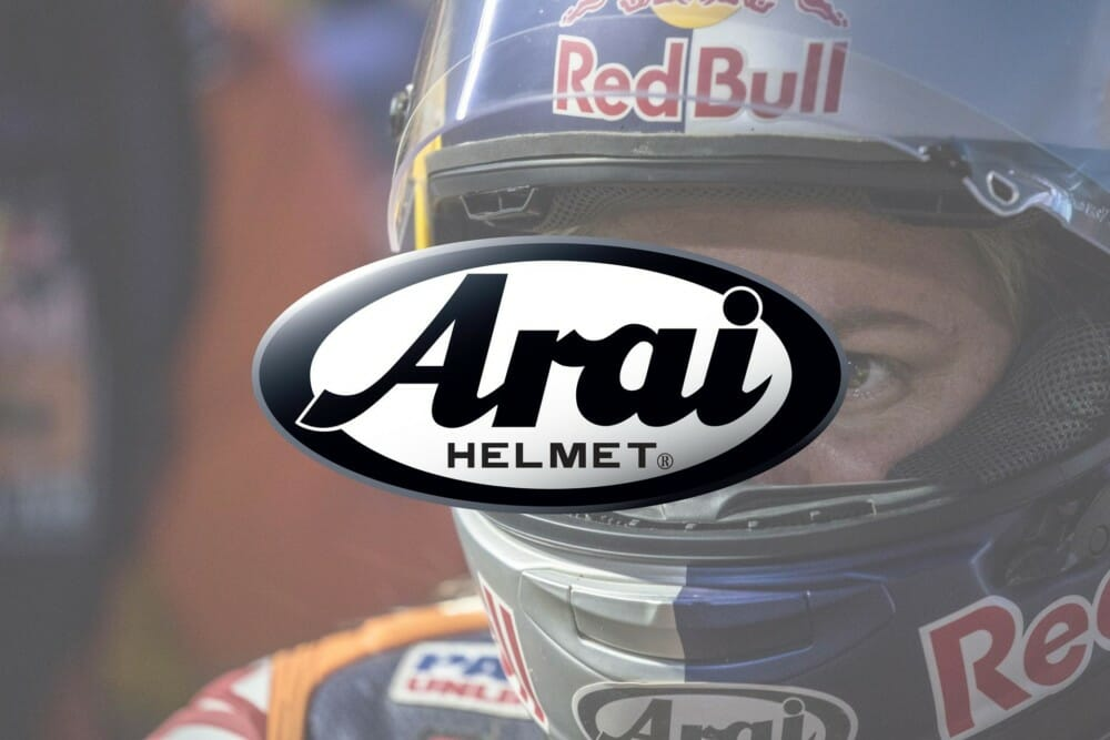 Arai named the Official Helmet of American Flat Track