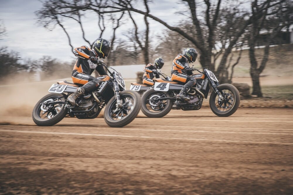 Harley-Davidson Factory Flat Track Team