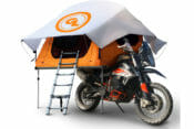 Giant Loop Introduces First Seat-Top Tent for Adventure Motorcycles