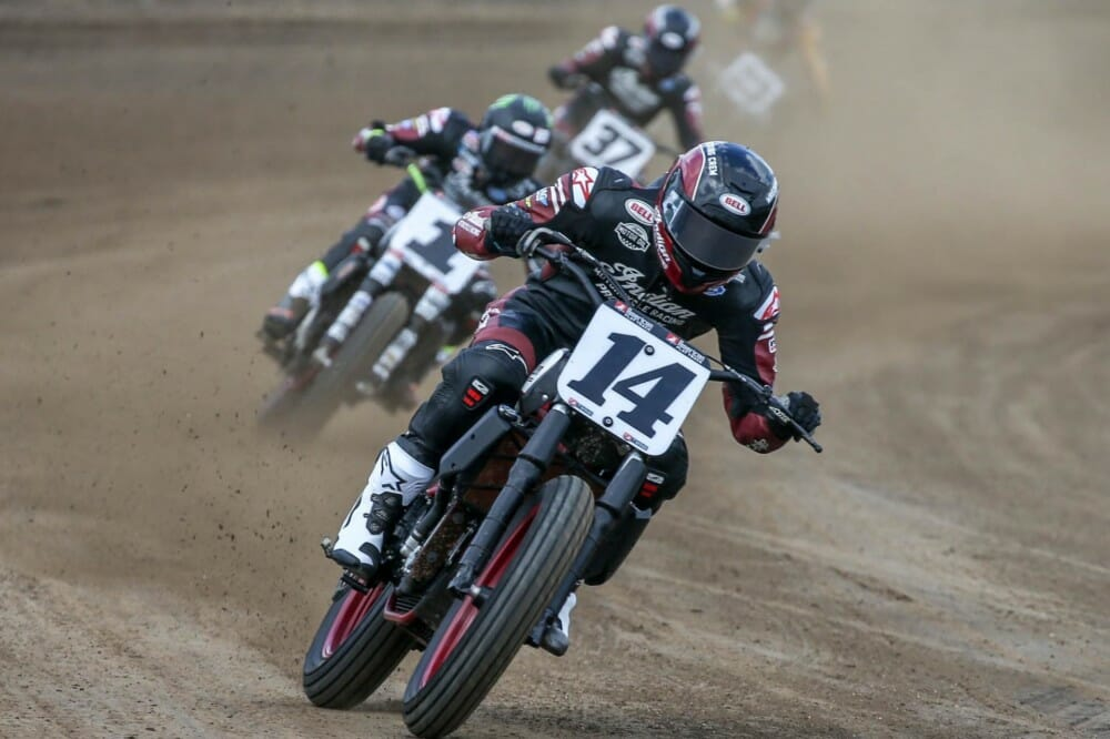 Indian Motorcycle and American Flat Track Renew Series Partnership for 2020