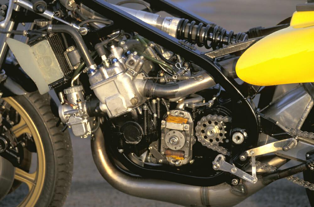 Kenny Roberts 1980 Yamaha YZR500 OW48R Engine