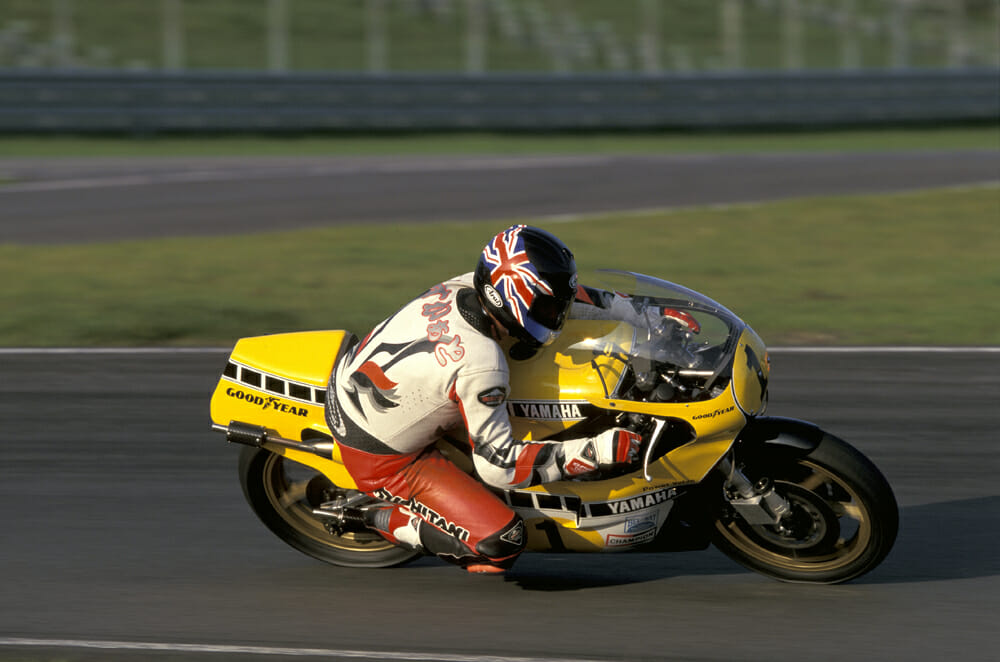 Kenny Roberts 1980 Yamaha YZR500 OW48R Wheelbase