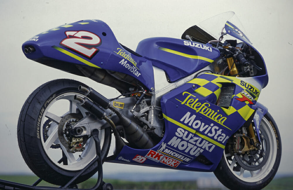 Kenny Roberts Junior's 2000 Suzuki RGV500