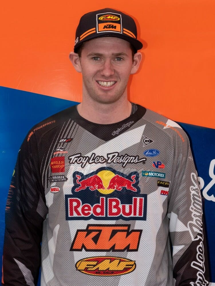 Liam Draper to Fill In for FMF KTM Factory Racing's Ben Kelley in AMA National Enduro