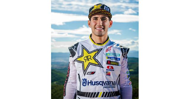 Luciano Benavides Joins Rockstar Energy Husqvarna Factory Racing Team
