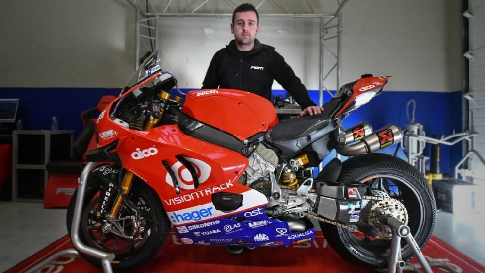 Michael Dunlop to Race on Ducati V4R at 2020 Isle of Man TT