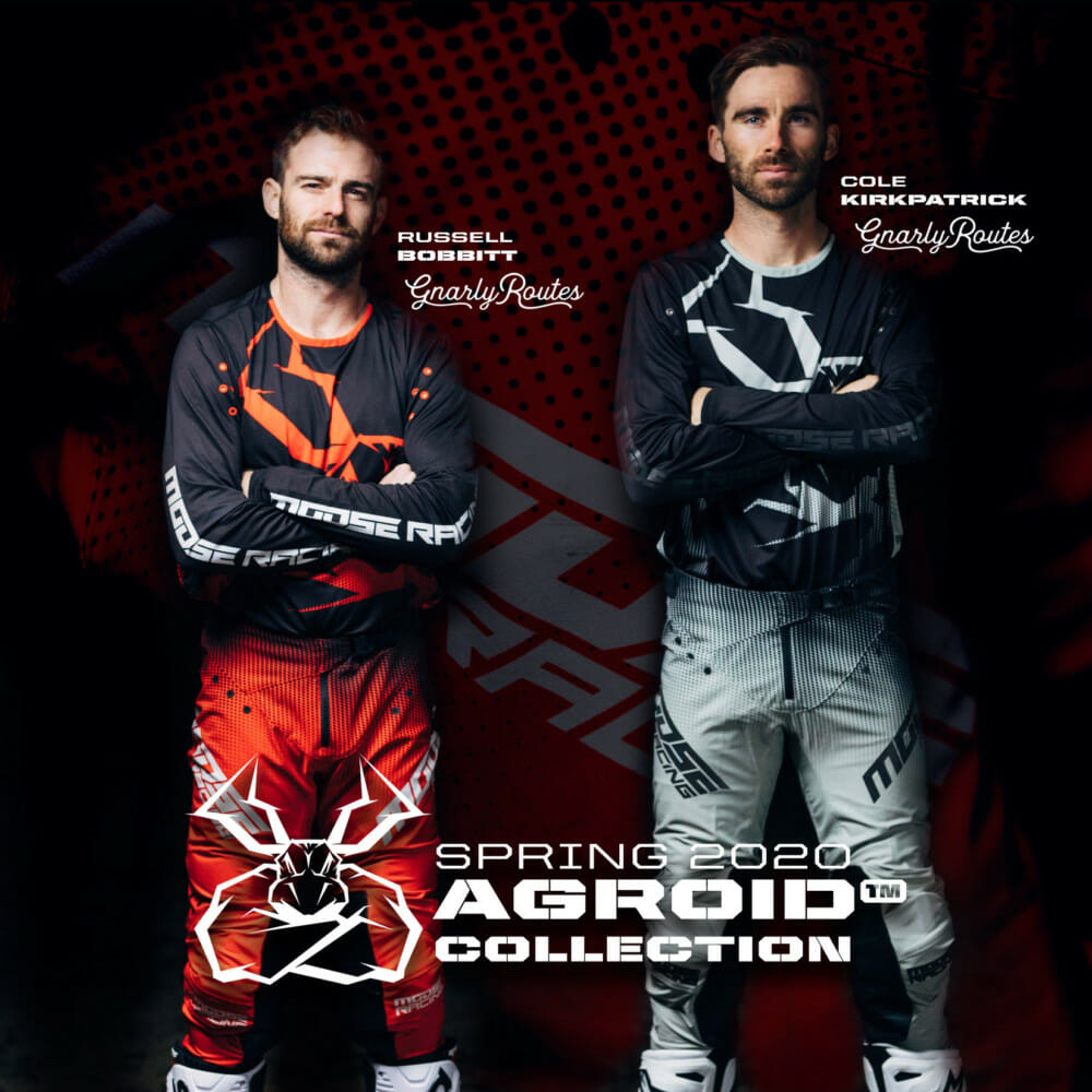 Moose Racing Agroid Gear with Cole Kirkpatrick and Russell Bobbitt