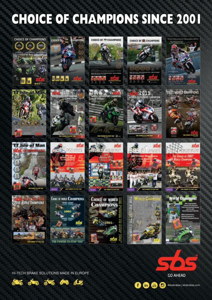 SBS Road Racing Booklet