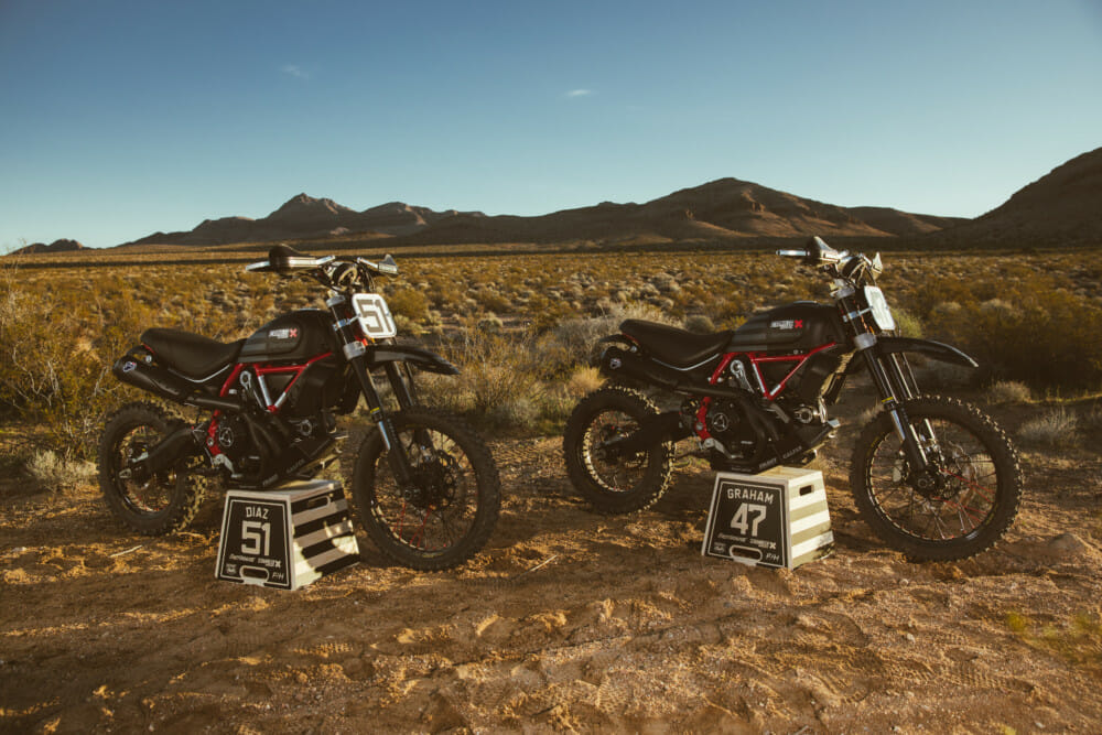 Scrambler Ducati Desert Sled Dominates Inaugural Mint 400 Hooligan Class