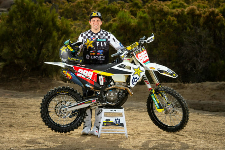 Rockstar Energy Husqvarna Factory Racing'S Thad DuVall Sustains ACL Injury