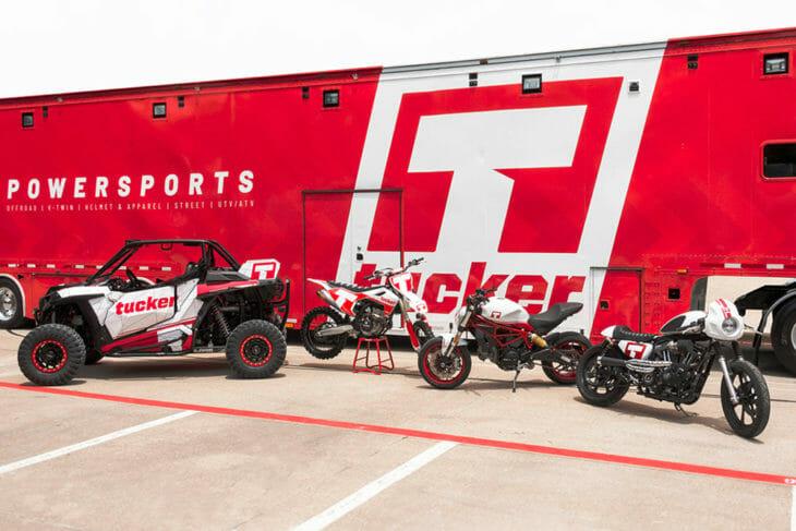 Tucker Powersports Rebranding Image
