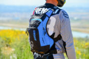 USWE Ranger 9 Hydration Pack Blue Right Side