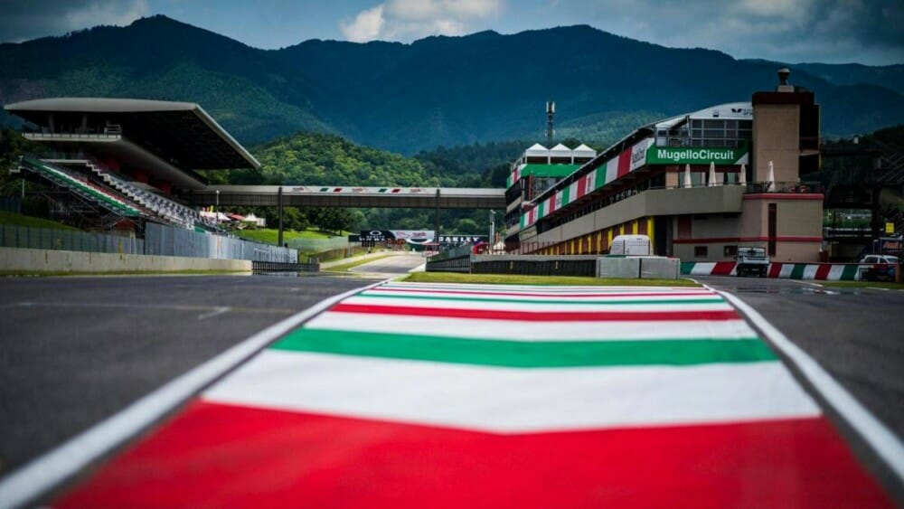 Empty Mugello Circuit