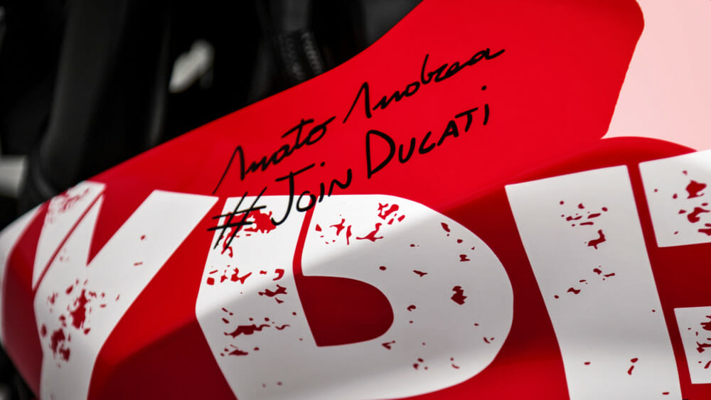 The winner of the 'Join Ducati' competition was chosen and will receive a brand-new Hypermotard 950 with special livery. 'Join Ducati' initiative will be repeated in the coming months.