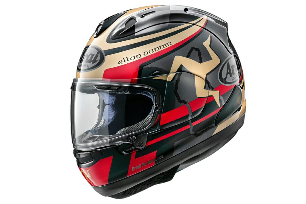 Arai 2020 Isle of Man TT LE Helmet