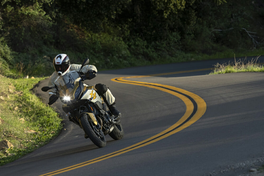 For $2700 more than the $8995 F 900 R, the F 900 XR gets you increased suspension travel and fuel capacity, improved aerodynamics, and hand protection, plus more available options.