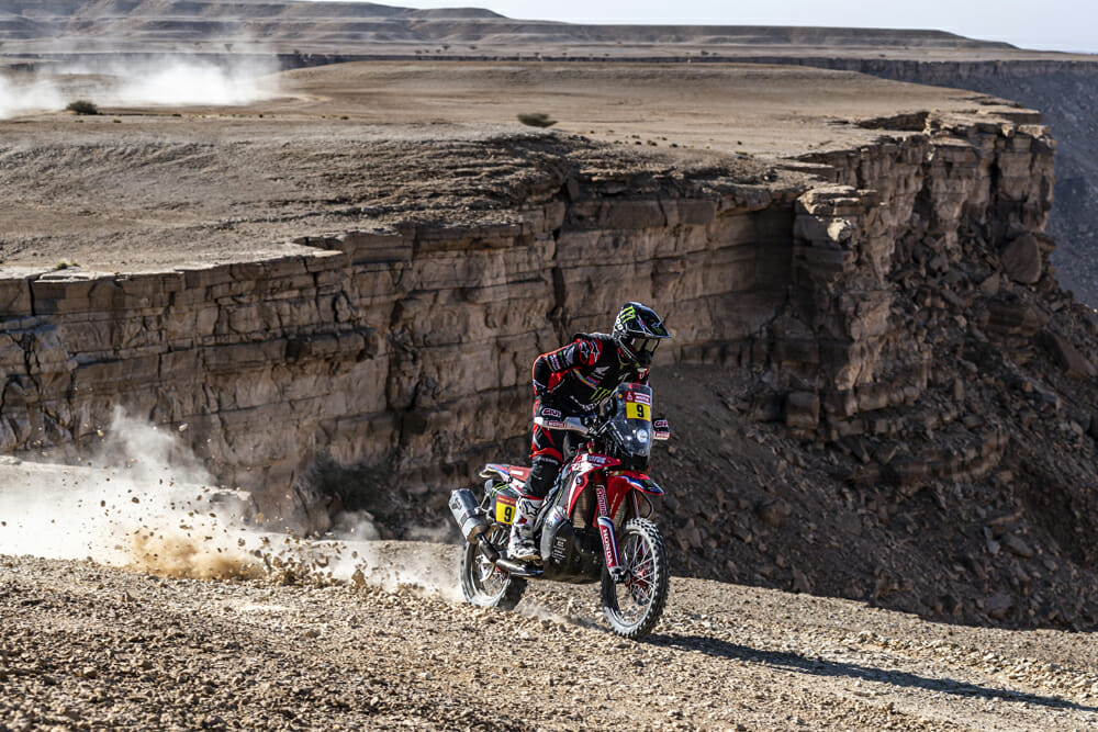 There was no shortage of stunning landscapes in the deserts of Saudi Arabia at the 2020 Dakar Rally.