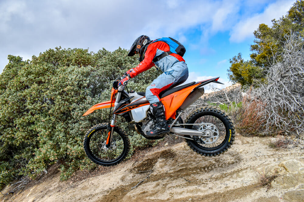 Is the 2020 KTM 350 XCF-W the ultimate trail bike? Could be for many.
