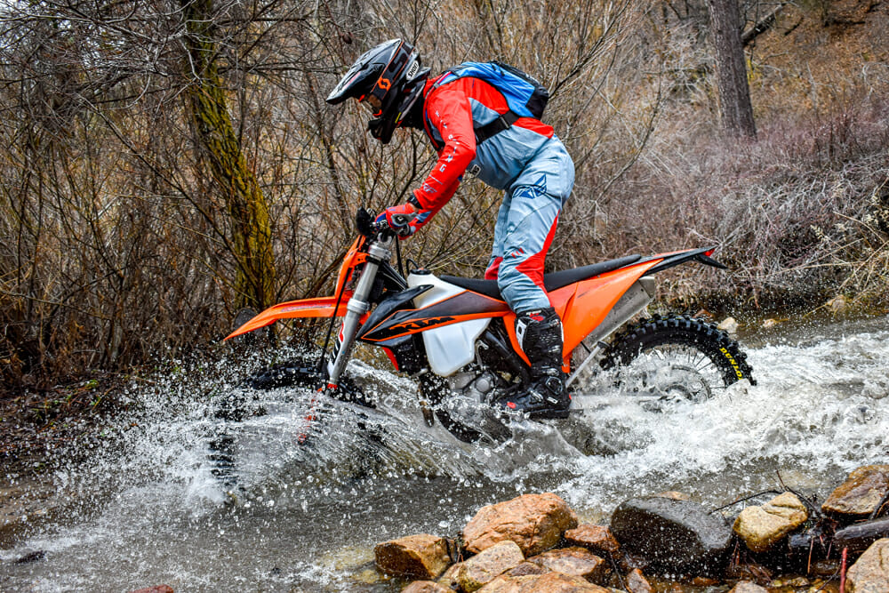 When it comes to trail performance, there isn't much not to like about the 2020 KTM 350 XCF-W.