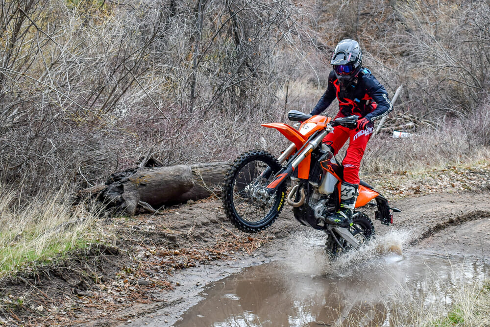 At $10,999 MSRP, the 2020 KTM EXC-F isn't cheap but at least you do, indeed, get a lot for your money.