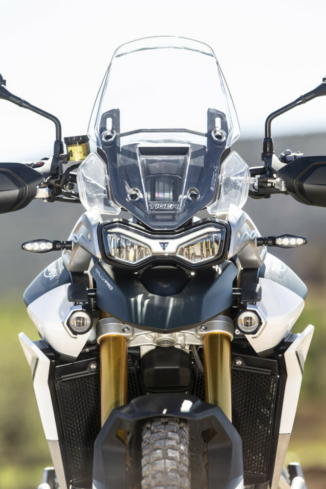 The 2020 Triumph Tiger 900 is ready to go face to face with any ADV bike on the market.