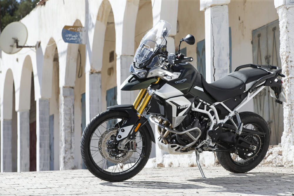 The 2020 Triumph Tiger 900 Rally gets more displacement and less weight.