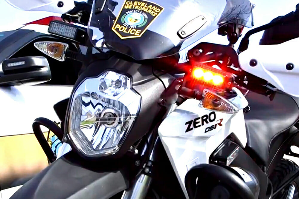 FirstEnergy Donates Electric Motorcycles to Police Department