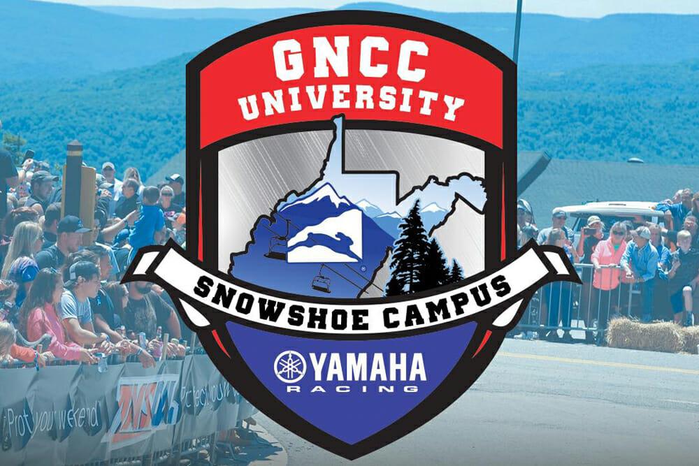Yamaha's GNCC University Scheduled to Return for 2020