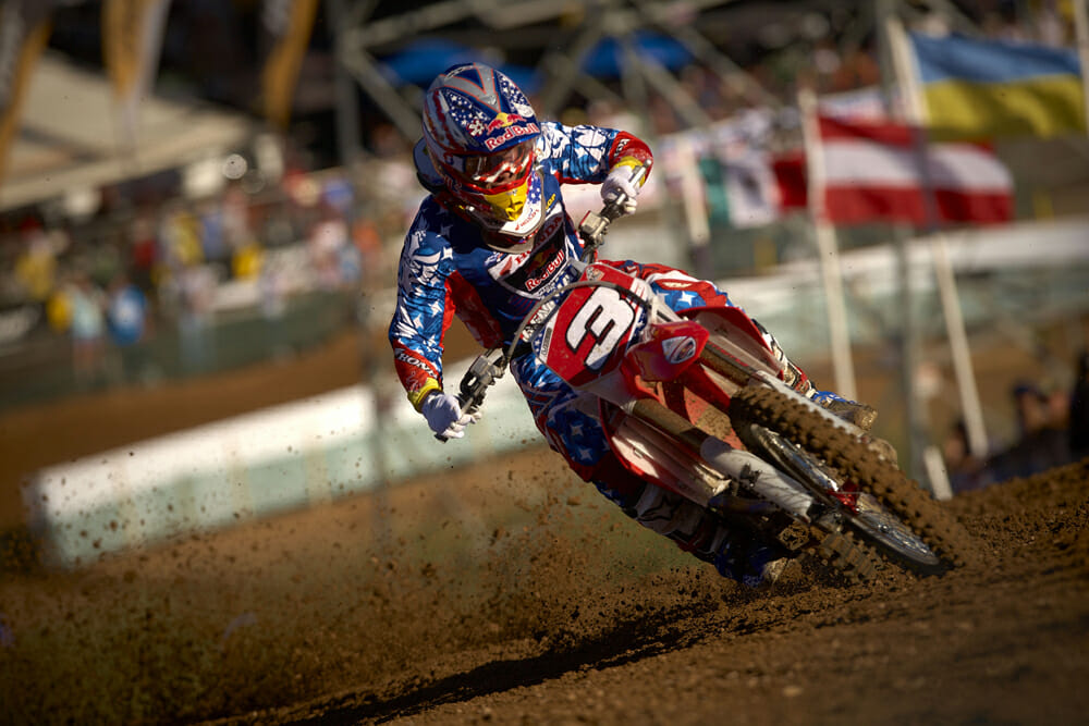 You might say that Andrew Short's motocross career peaked when he was with the Honda factory MX team and represented the U.S. on the Motocross of Nations team in 2010.