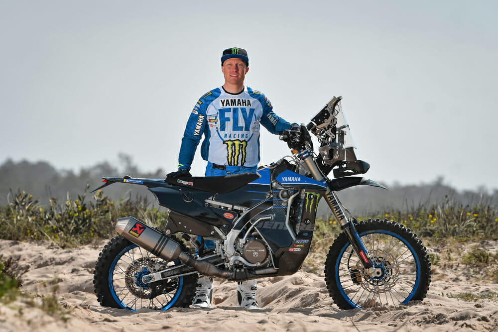 Andrew Short's number-one goal these days is winning the Dakar Rally, which he hopes to accomplish with his new Monster Energy Yamaha Team.