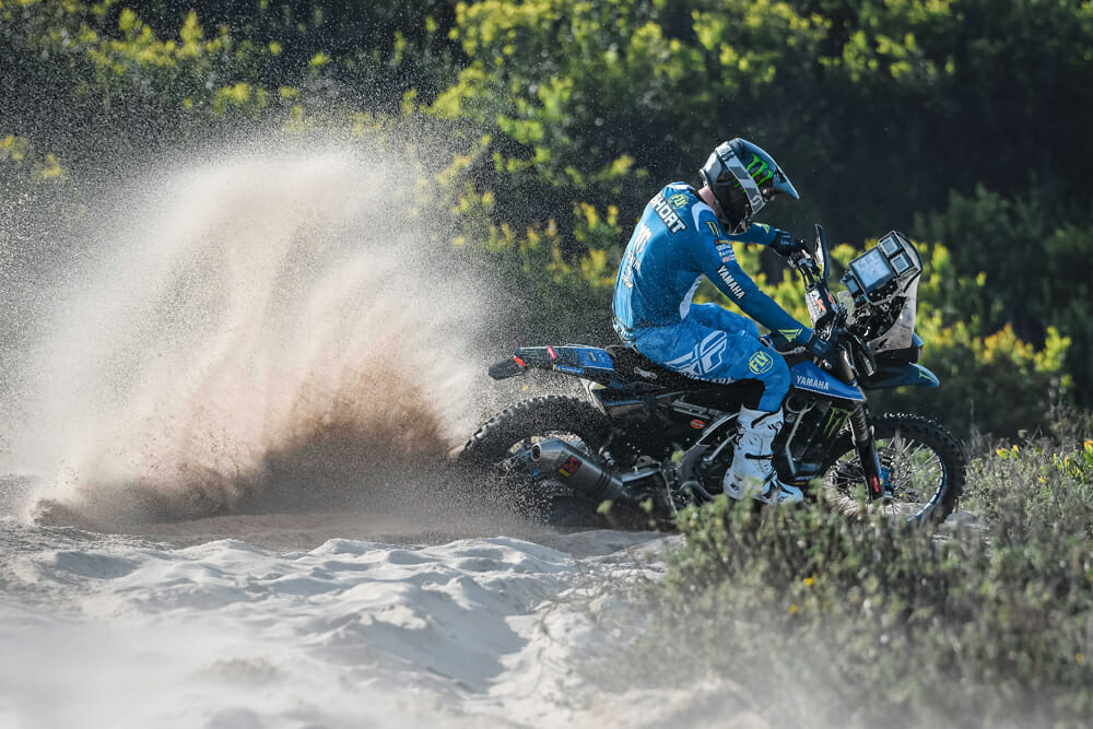 Andrew Short's new adventure is with the Monster Energy Yamaha Rally Team.