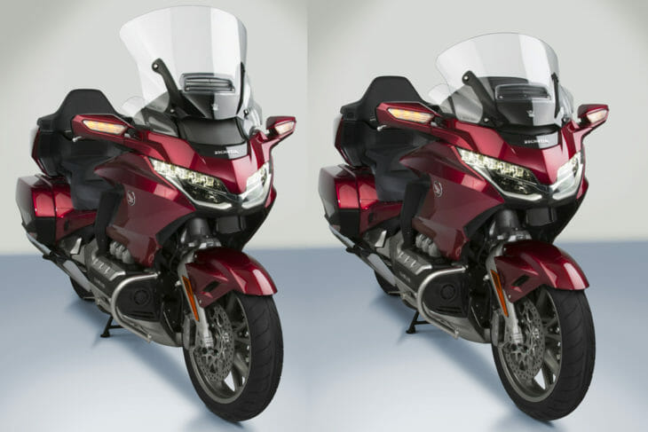 National Cycle has released its VStream+ Deluxe windscreens for 2018-20 Honda Gold Wings.