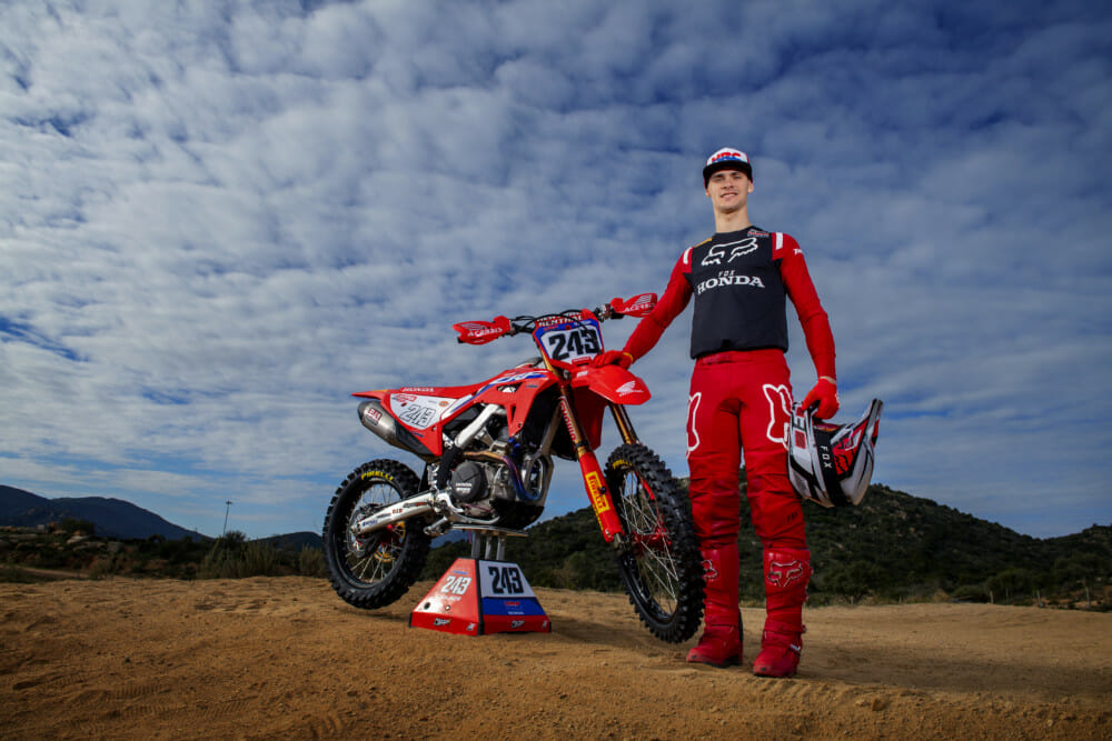MXGP World Champion Tim Gajser