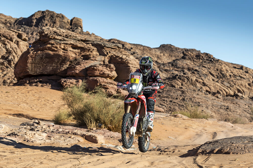 The 2020 Dakar Rally's new location in Saudi Arabia helped to equalize the field, according to Brabec.