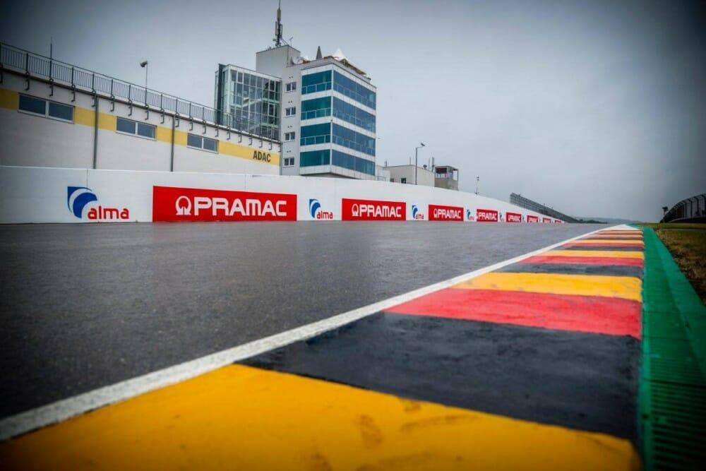 Sachsenring racetrack