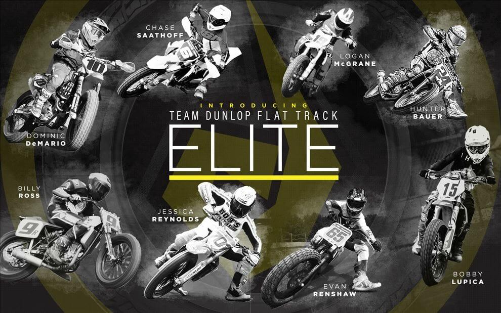Team Dunlop Flat Track Elite program