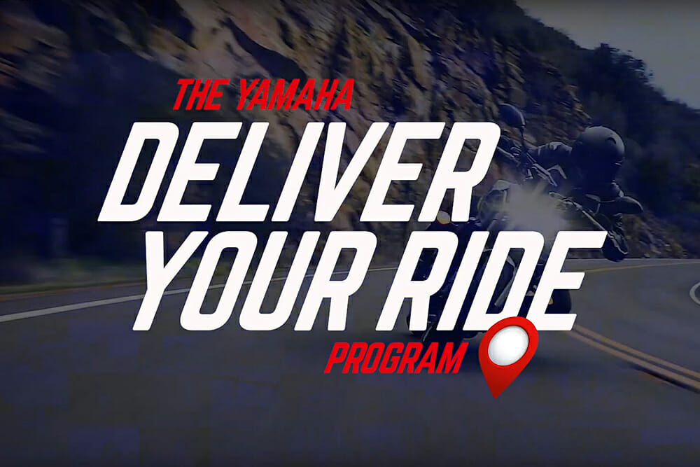 """Yamaha Motorsports Launches """"Deliver Your Ride"""" Program"""