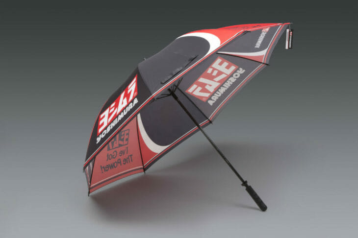 "Yoshimura Umbrellas | Yoshimura has new 2020 ""I've Got The Power"" umbrellas with carbon-fiber shafts and large coverage area."
