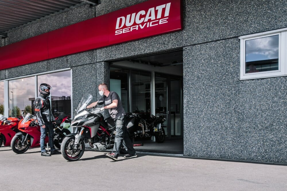 "Ducati Dealerships Beginning to Re-open | Dealers ""Ducati Cares"" program allows Ducati dealers to welcome back their customers"
