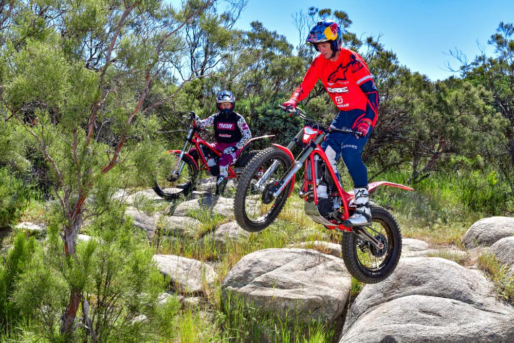 2020 GasGas TXT Racing 300 Jesse Ziegler and Geoff Aaron