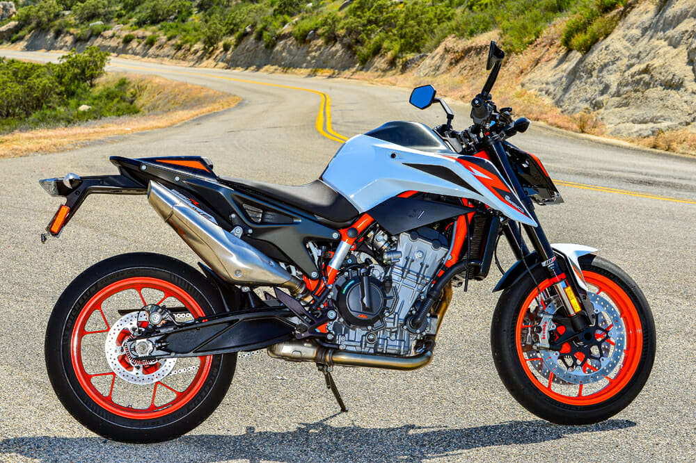2020 KTM 890 Duke R Specifications