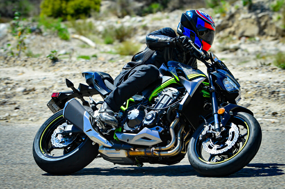 2020 Kawasaki Z900 ABS Suspension