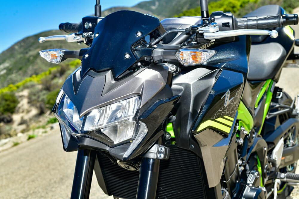 2020 Kawasaki Z900 ABS front view