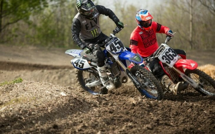 2020 Moto Fite Klub Bradshaw - Stanton race action - Photo by Willie Browning