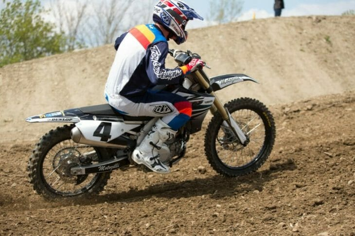 2020 Moto Fite Klub Broc Glover race action - Photo by Willie Browning