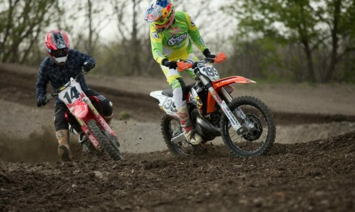 2020 Moto Fite Klub Pastrana - Windham race action - Photo by Willie Browning