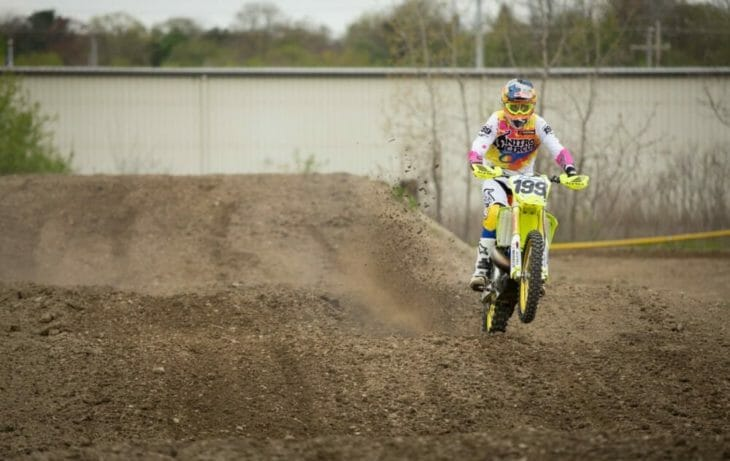 2020 Moto Fite Klub Travis Pastrana race action - Photo by Willie Browning