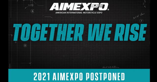 AIMExpo 2021 Postponed